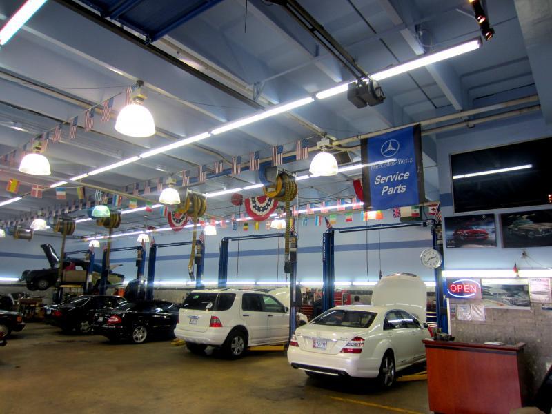 German service center inc services for Mercedes benz downtown la service